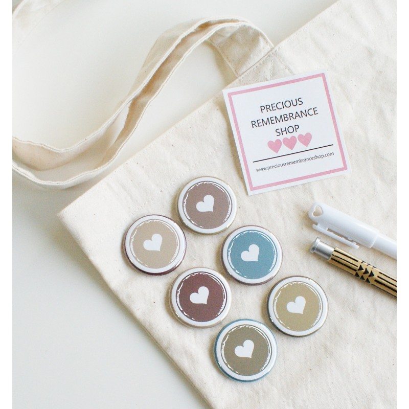 Hearts  Flair Buttons