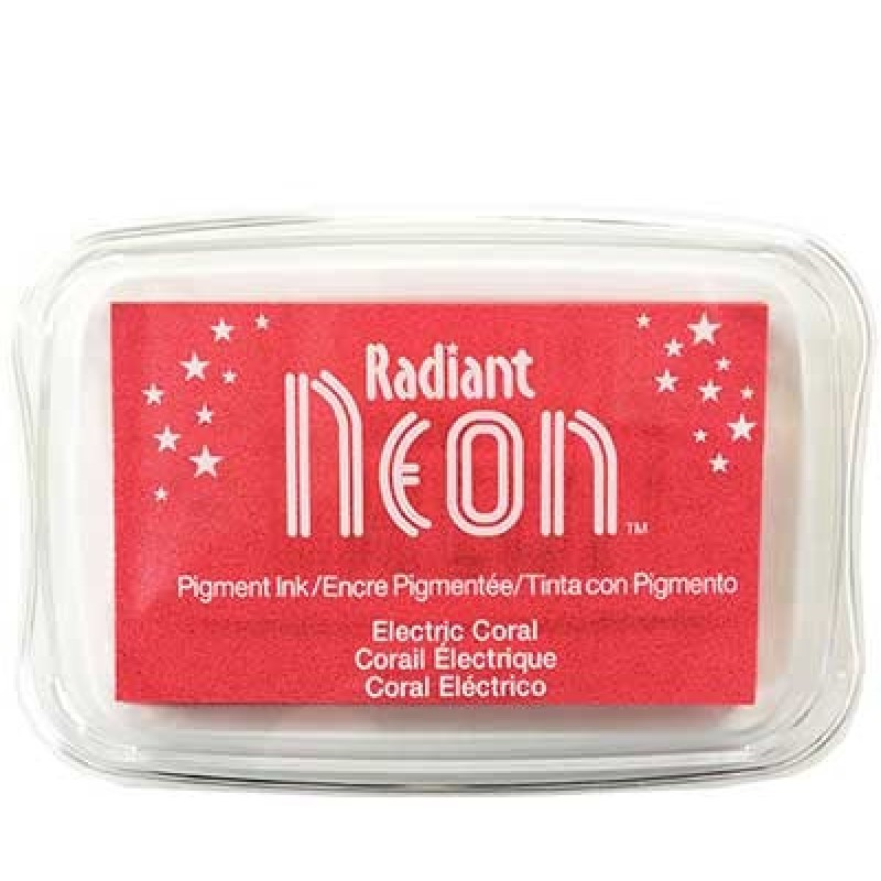 Radiant Neon - Electric Coral
