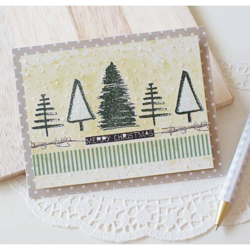 Sketchy Christmas Stamp Set