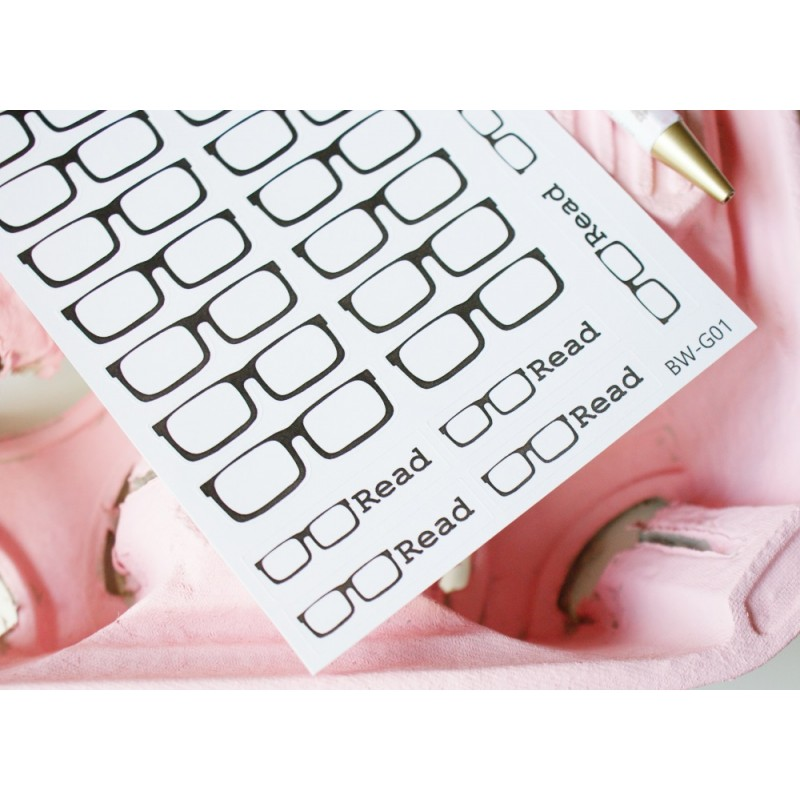 Glasses / Read Stickers | BW-G01